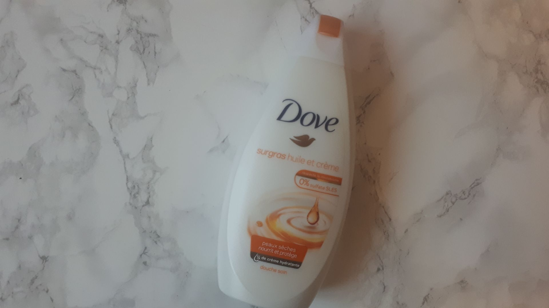 Gel douche du moment | Dove
